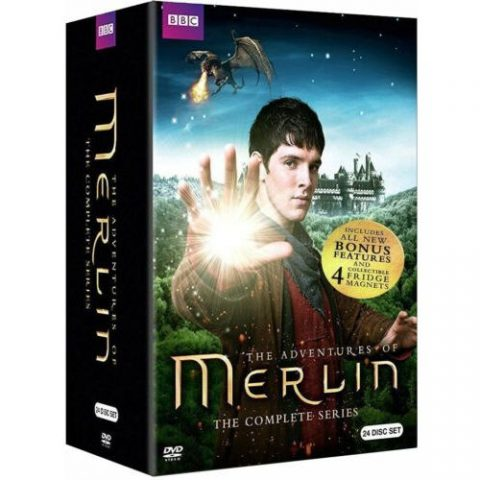 Merlin Complete Series DVD Box Set For Sale