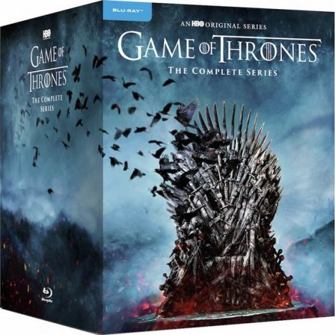 Game of Thrones Complete Series 1-8 Blu-ray Region Free Box Set For Sale