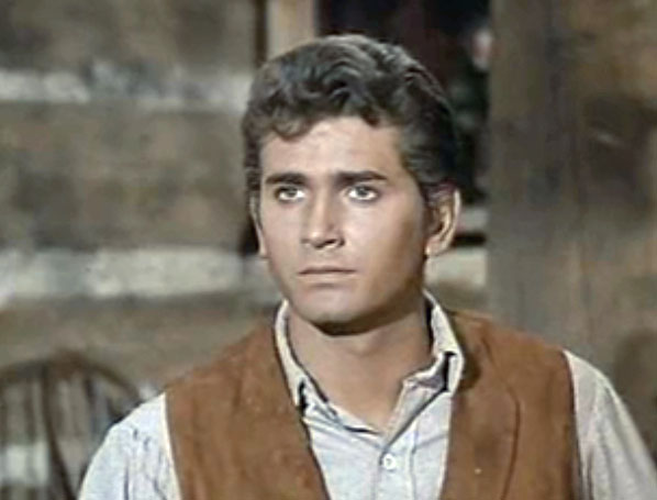 MICHAEL LANDON AS LITTLE JOE IN BONANZA. PHOTO COURTESY OF WIKIPEDIA MEDIA CREATIVE COMMONS