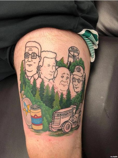 6 Tattoos Inspired By Adult Cartoons