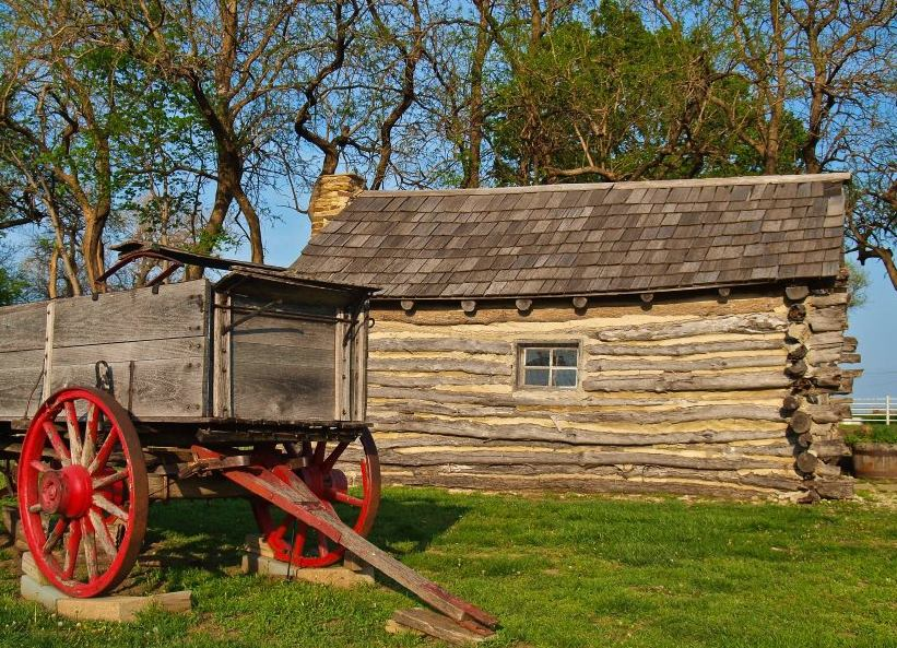 PHOTO COURTESY OF LITTLE HOUSE ON THE PRAIRIE MUSEUM NEAR INDEPENDENCE, KANSAS