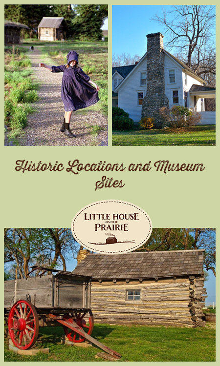 Historic Locations And Points Of Little House On The Prairie