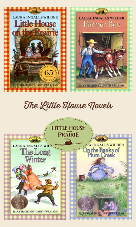 The Little House On The Prairie Books