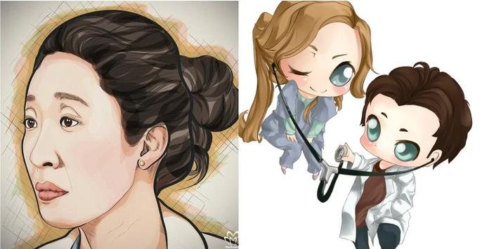 5 Pieces Of Grey's Anatomy Fan Art