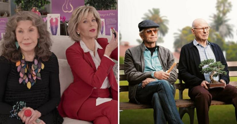 10 Similarities Between Grace And Frankie And The Kominsky Method