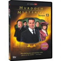Murdoch Mysteries Season 13 DVD For Sale