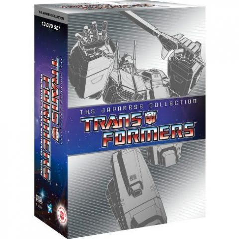 Transformers: the Japanese Collection Box Set For Sale