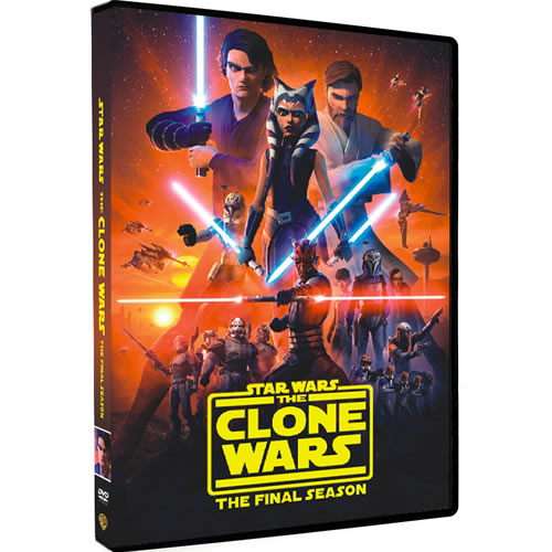 Star Wars: The Clone Wars Season 7 DVD For Sale