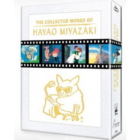 The Collected Works of Hayao Miyazaki (Blu-Ray) Box Set For Sale