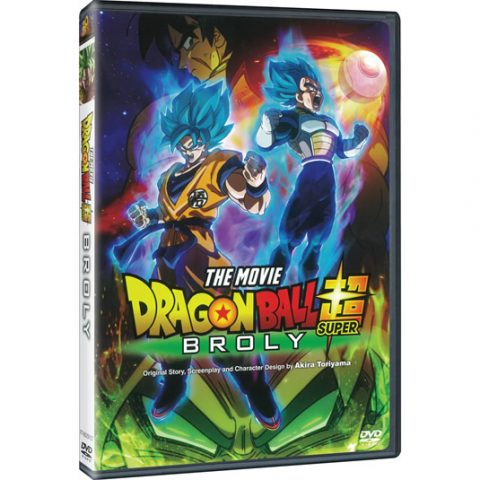 Dragon Ball Super: Broly DVD For Sale