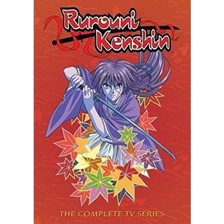 Rurouni Kenshin Complete Series DVD Box Set For Sale