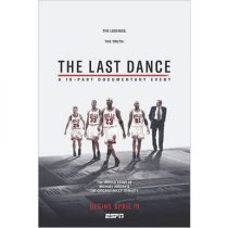 ESPN: The Last Dance Documentary DVD For Sale