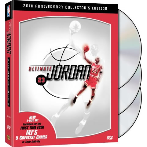 NBA: Ultimate Jordan 20th Anniversary Collector's Edition DVD For Sale