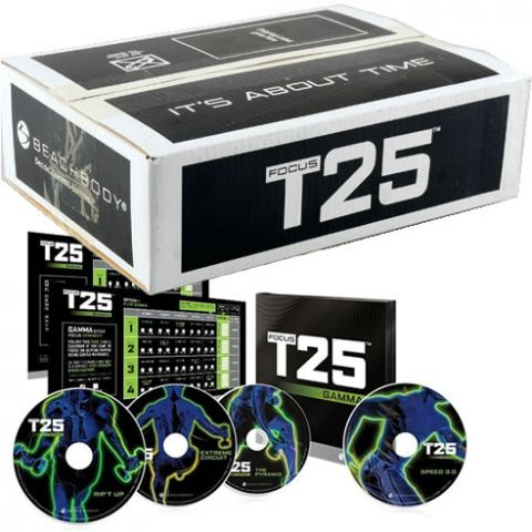 Focus T25 + GAMMA 14-Disc DVD Set Box Set For Sale