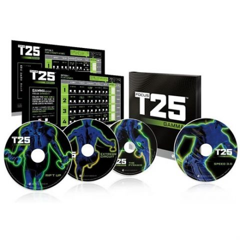 Focus T25 GAMMA 4-Disc DVD For Sale