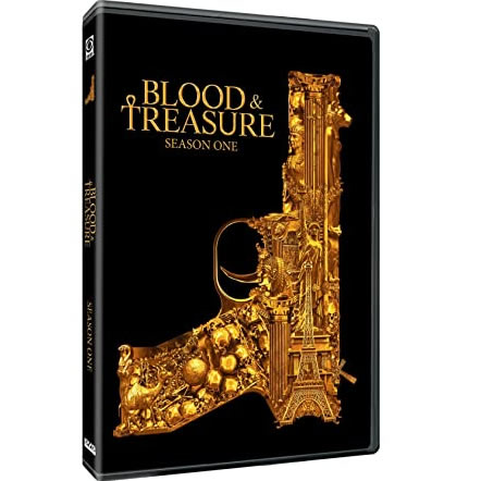 Blood & Treasure Season 1 DVD For Sale