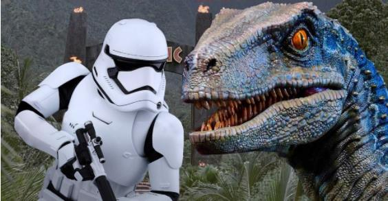 Star Wars Confirmed To Exist In Jurassic Park's Universe