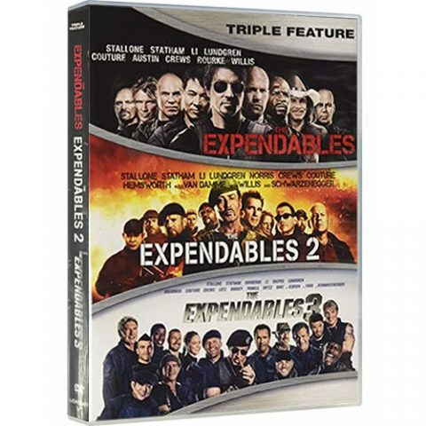 The Expendables 1-3 DVD For Sale