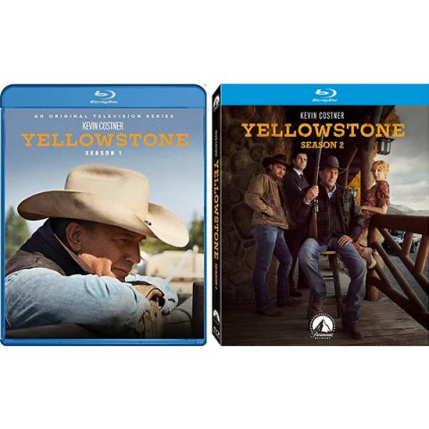 Yellowstone Complete Season 1 Blu-ray Region Free 1-2 For Sale