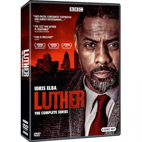 Luther Complete Series DVD Box Set For Sale