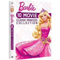 Barbie 10-Movie Classic Princess Collection DVD For Sale