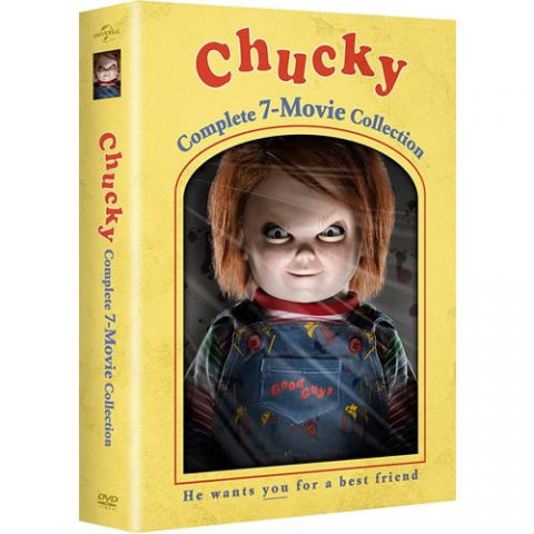Chucky Complete 7-Movie Collection Box Set For Sale
