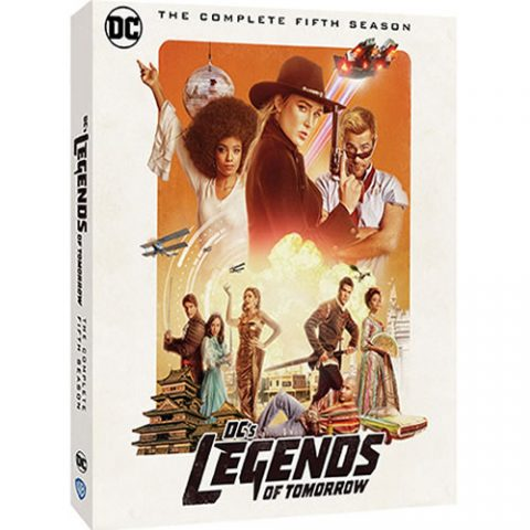 DC's Legends of Tomorrow Season 5 DVD For Sale