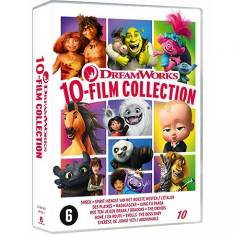DreamWorks 10 Movie Collection Box Set For Sale