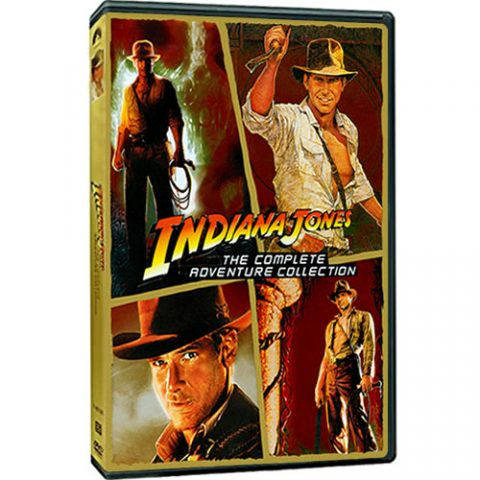 Indiana Jones The Complete Adventure Collection Box Set For Sale