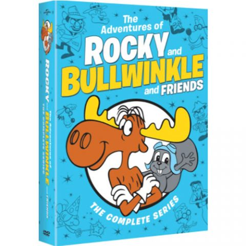 The Adventures of Rocky and Bullwinkle and Friends Complete Series DVD Box Set For Sale