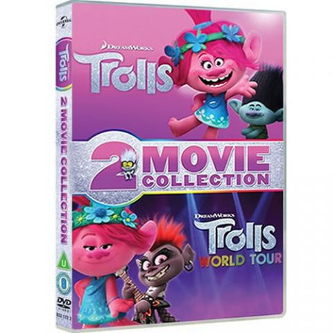 Trolls 2-Movie Collection DVD For Sale