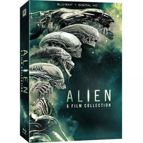 Alien 6-film Collection Blu-ray Region Free For Sale