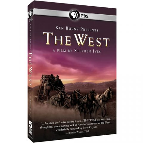 Ken Burns Presents - The West A Film by Stephen Ives DVD For Sale