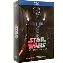 Star Wars: The Skywalker Saga 12 Movie Collection Blu-ray Region Free For Sale