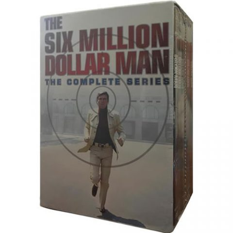 The Six Million Dollar Man Complete Series DVD Box Set For Sale