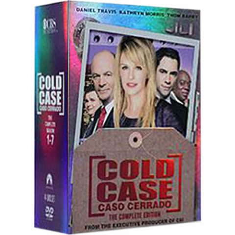 Buy Cold Case Complete Series DVD Box Set