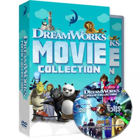 DreamWorks 24 Movie Collection DVD Box Set For Sale