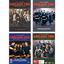 Buy Chicago Fire Complete Seasons 1-4