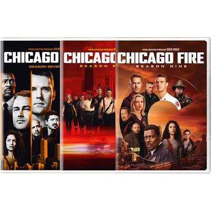 Buy Chicago Fire Complete Seasons 7-9